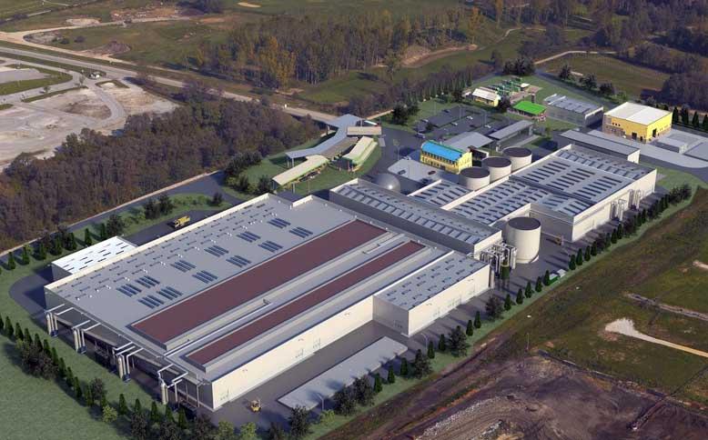 impianto trattamento biomeccanico rifiuti Slovenia